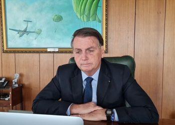 Foto: Reprodução Live Jair Bolsonaro Facebook