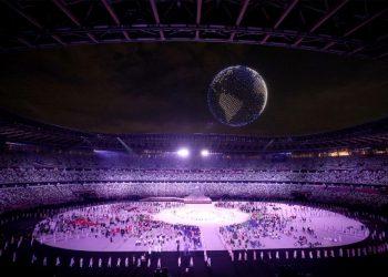 Foto: Reprodução/ Twitter Olympics