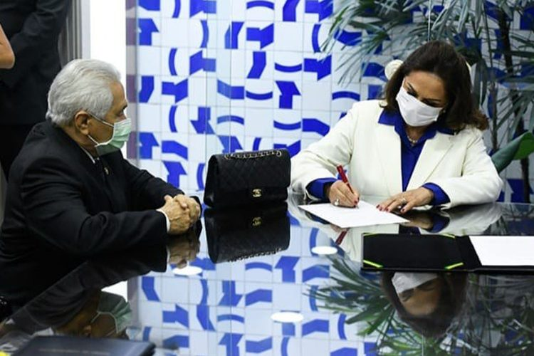 Eliane Nogueira assume mandato no lugar do filho Ciro Nogueira - Foto: Agência Senado