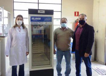Equipamento foi doado pela Elektro e será utilizado no PAM. Dr. Osvaldo Salvador Devitte. Foto: Divulgação / Prefeitura de Araras