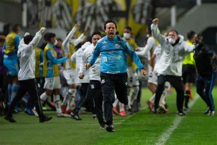 Twitter oficial do Santos FC