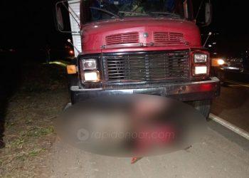 Motociclista e ciclista morrem em acidente na Limeira – Iracemápolis. Foto: Veloz / Rápido no Ar