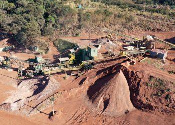 Estrutura no Geresol para fazer a separação e o reaproveitamento do RCC que chega ao local (Foto: Prefeitura Municipal de Jundiaí / Divulgação)