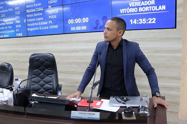 Foto: Gabinete Parlamentar / Câmara Municipal de Limeira